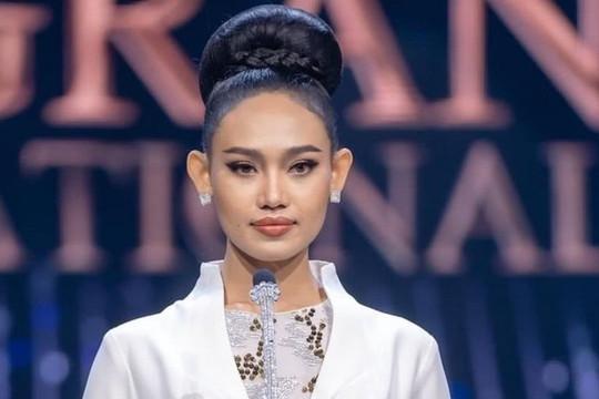 Hoa hậu Hòa bình Myanmar bị truy nã