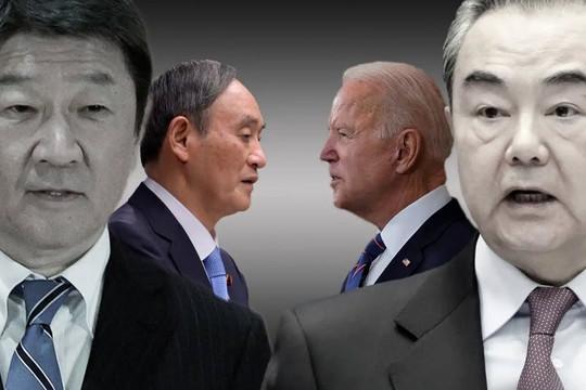 Thông điệp sau sự bồn chồn của ông Tập vì Tổng thống Biden sắp hội đàm Thủ tướng Suga lần đầu