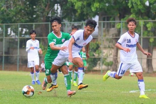 Trực tiếp tứ kết U.19 Quốc gia: Nutifood - Sài Gòn
