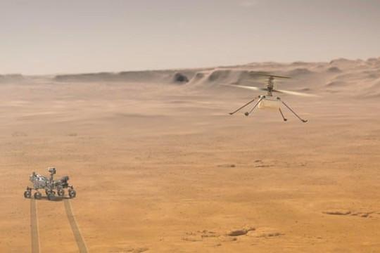 NASA chuẩn bị thực hiện chuyến bay lịch sử trên sao Hỏa