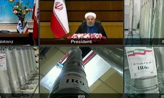Iran khởi động máy ly tâm làm giàu hạt nhân tân tiến