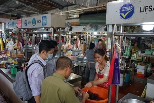 TP.HCM: Phát hiện nhiều thực phẩm tại chợ có chứa hàn the