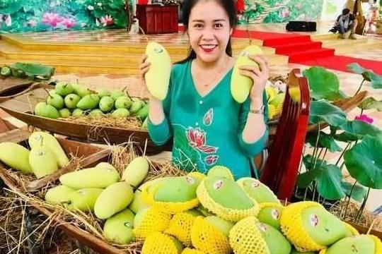Xoài Việt Nam xuất sang Trung Quốc trên 99% qua đường tiểu ngạch