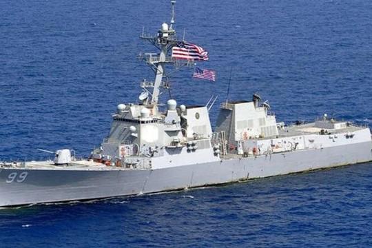 Nga cảnh báo tàu chiến Mỹ ở Biển Đen tránh xa Crimea: Chớ khiêu khích, thử thách thần kinh chúng tôi