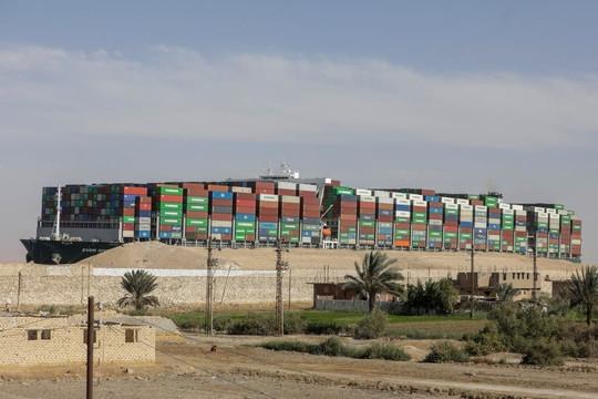 Ai Cập tạm giữ siêu tàu Ever Given vì chủ sở hữu từ chối trả 900 triệu USD bồi thường