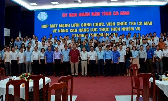 Cà Mau: Nhiều kỳ vọng vào đội ngũ công chức, viên chức trẻ