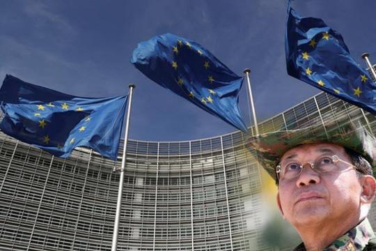 EU trừng phạt 10 cá nhân và 2 công ty hùng mạnh nhất hỗ trợ quân đội Myanmar