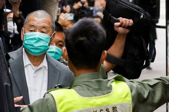 Mỹ lên án Trung Quốc vì bỏ tù tỷ phú truyền thông Jimmy Lai và các nhà hoạt động Hồng Kông
