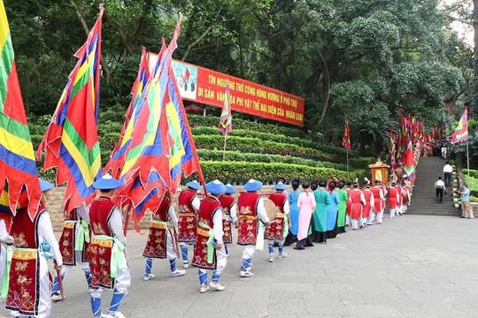 Lễ hội đền Hùng dự kiến đón 20.000 người đến tham quan, dâng hương