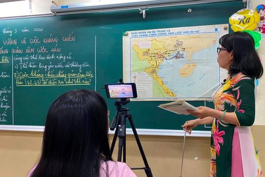 TP.HCM không dựa vào kết quả học tập của học sinh để đánh giá giáo viên