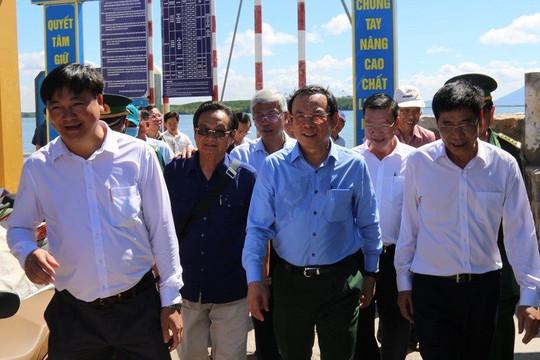 Bí thư Nguyễn Văn Nên giao Sở GT-VT lo việc xây cầu Cần Giờ - Bình Khánh