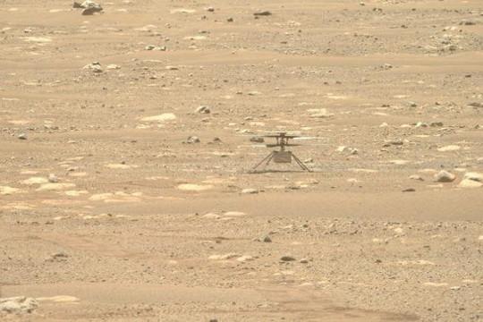 Trực thăng sao Hỏa của NASA hạ cánh an toàn sau sự cố 'nhớ đời'
