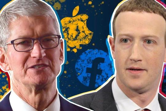 CEO Apple và Facebook trở thành kẻ thù như thế nào vì tính năng mới của iOS 14.5?