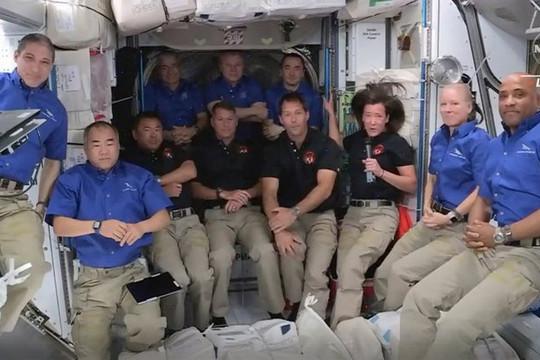 Trạm vũ trụ ISS đông nhất trong hơn 10 năm qua
