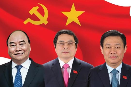 Bầu Chủ tịch nước, Thủ tướng, Chủ tịch Quốc hội nhiệm kỳ mới vào tháng 7