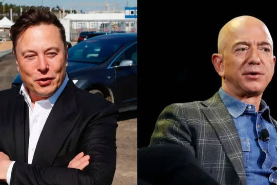SpaceX có hợp đồng 2,9 tỉ USD với NASA về tàu lên Mặt trăng, Elon Musk chế nhạo Blue Origin của Jeff Bezos vì kiện tụng