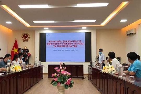 Hoàn thành thiết kế Bệnh viện dã chiến điều trị COVID-19 tại Kiên Giang