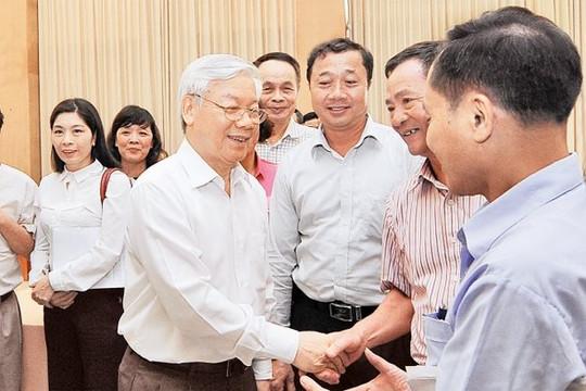 Tổng bí thư Nguyễn Phú Trọng ứng cử ĐBQH ở quận Ba Đình, Đống Đa, Hai Bà Trưng