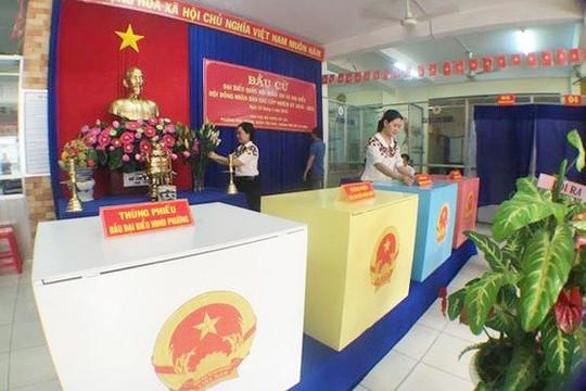 TP.HCM công bố 32 tổ bầu cử HĐND, Chủ tịch TP Nguyễn Thành Phong ứng cử tại quận 1