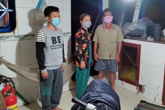 Phát hiện 3 người nhập cảnh trái phép trên vùng biển Phú Quốc
