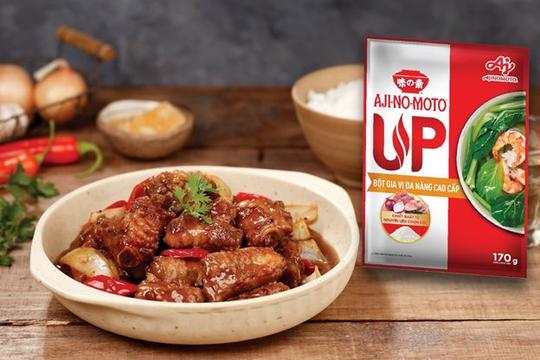 """Nấu ăn """"dậy vị chuẩn ngon"""" với bột gia vị đa năng cao cấp AJI-NO-MOTO® UP"""