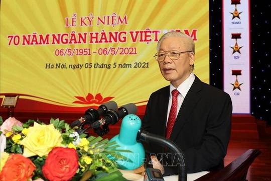 Tổng bí thư Nguyễn Phú Trọng: Ngành ngân hàng là huyết mạch của nền kinh tế, rất phức tạp, nhạy cảm