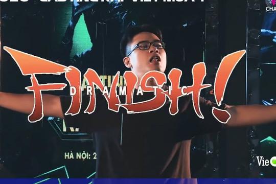 Clip GDucky thi casting Rap Việt, Rhymastic khen tuyệt vời, JustaTee đòi cơm bưng nước rót