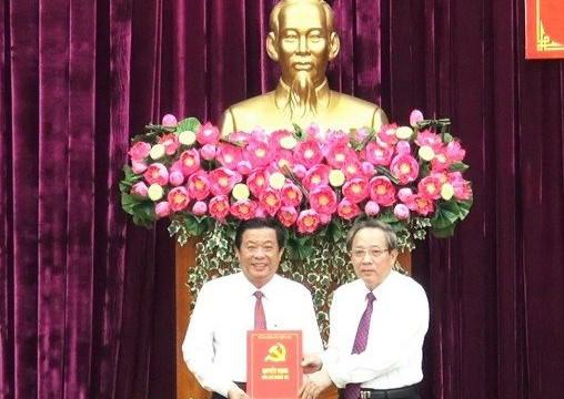 Vĩnh Long: Bộ Chính trị chuẩn y tân Bí thư Tỉnh ủy