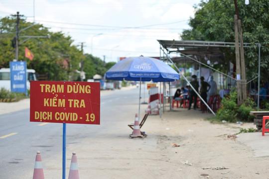 Quảng Nam rốt ráo lập 7 chốt kiểm dịch chống COVID-19