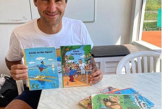 Ngôi sao quần vợt Roger Federer trở thành nhân vật chính trong truyện tranh cho trẻ em