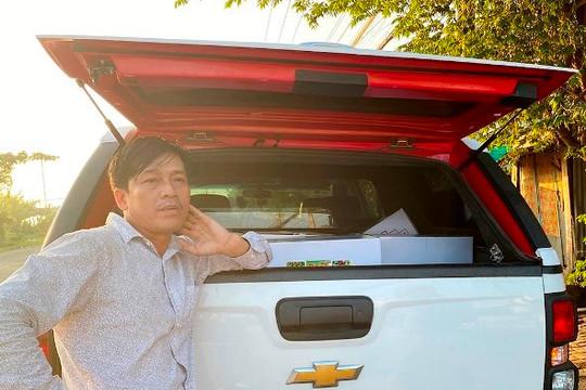 An Giang: Giám đốc công ty sản xuất và vận chuyển trái phép thuốc bảo vệ thực vật