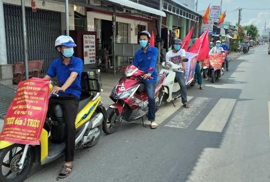 Kiên Giang: Bắt đầu xử phạt người không đeo khẩu trang