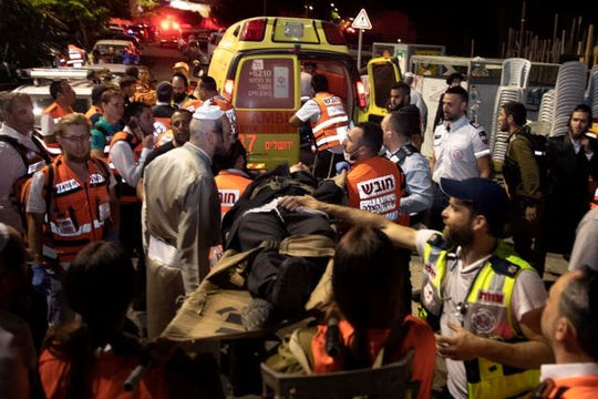 Israel: Sập khán đài trong giáo đường khiến 2 người chết, hơn 200 người bị thương