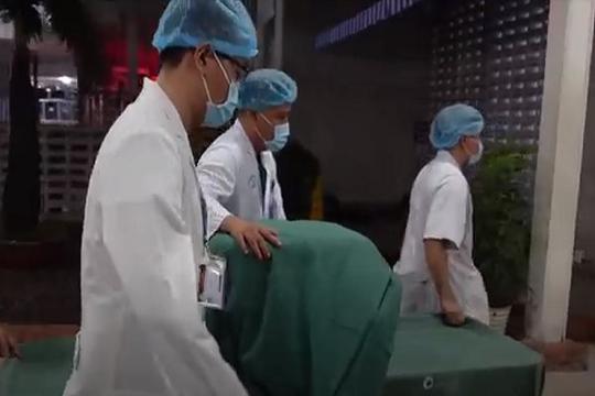 CSGT xuyên đêm đưa 4 quả tạng về Bệnh viện Chợ Rẫy cứu người