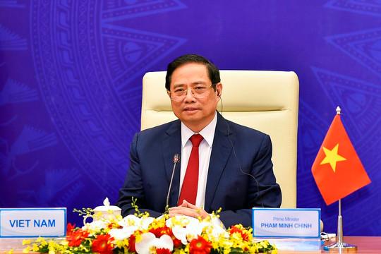 Đề xuất 5 phương châm, 6 nội dung chung tay xây dựng châu Á hậu COVID-19 của Thủ tướng Phạm Minh Chính