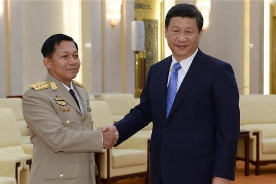 Nhóm nổi dậy giết 15 cảnh sát Myanmar, tướng Min Aung Hlaing trấn an doanh nghiệp Trung Quốc