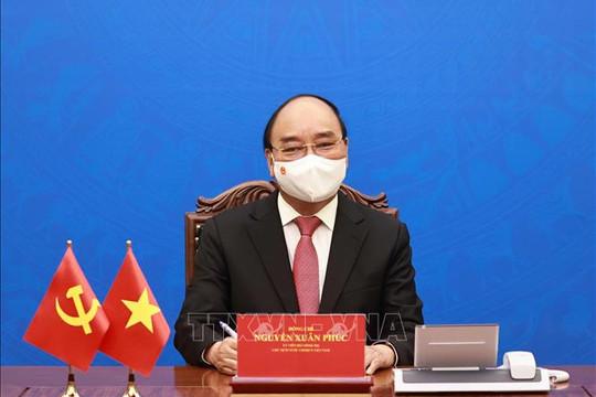 Ông Tập Cận Bình mời Tổng Bí thư Nguyễn Phú Trọng, Chủ tịch nước Nguyễn Xuân Phúc thăm Trung Quốc
