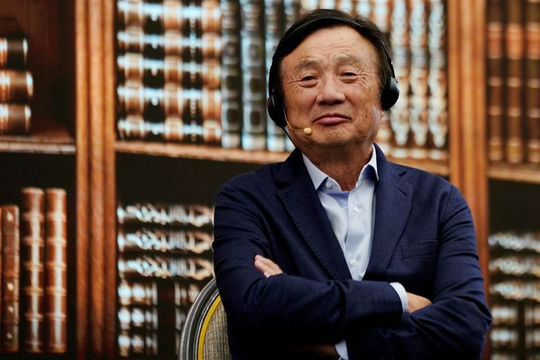 Người sáng lập Huawei đặt mục tiêu dẫn đầu thế giới về phần mềm, chống lại lệnh trừng phạt của Mỹ