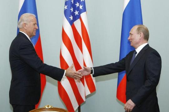 Ông Biden đối mặt Putin ở hội nghị thượng đỉnh Geneva giữa căng thẳng Mỹ-Nga