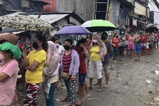 Người dân Philippines đối mặt với nạn đói do bó gối trong đại dịch COVID-19