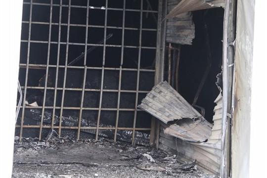 Kiên Giang: Trụ sở ngân hàng bị cháy trong đêm xuất phát từ trụ ATM