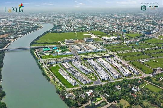 Bất động sản ven sông tại Long An hút đầu tư