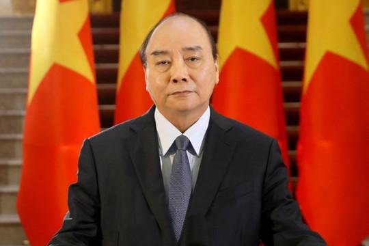 Chủ tịch nước Nguyễn Xuân Phúc gửi thư đến Tổng thống Biden, trao đổi về vắc xin và ứng phó COVID-19