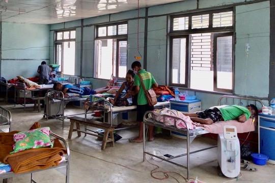 COVID-19 bùng phát ở Myanmar khiến hệ thống y tế sụp đổ sau cuộc đảo chính
