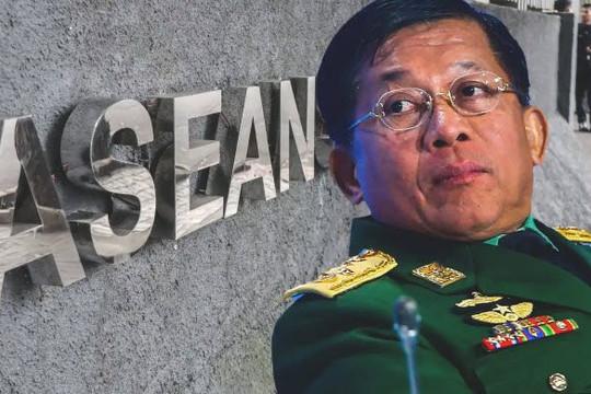 Thấy gì từ việc Tổng tư lệnh quân đội Myanmar tự tin tiếp đón 2 đại diện ASEAN?