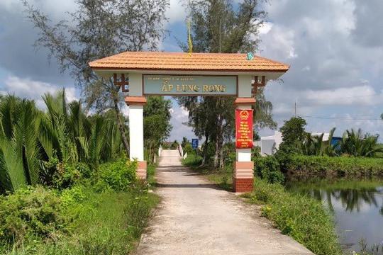 Bạc Liêu: Sắc mới nông thôn ở xã Định Thành A