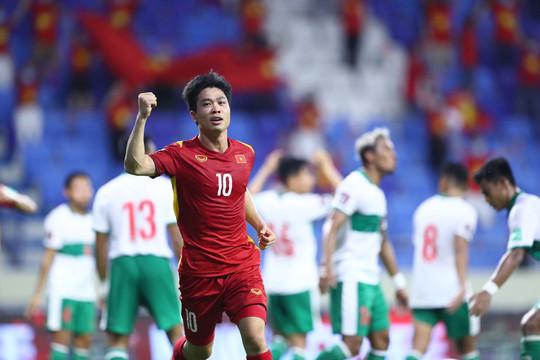"""Báo chí Thái Lan tranh thủ """"nhận công"""" trong đại thắng của Việt Nam trước Indonesia"""