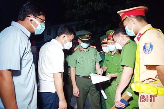 Hà Tĩnh: Cách ly 8 thôn với gần 6.000 dân ở Tân Lâm Hương sau 3 ca dương tính với COVID-19