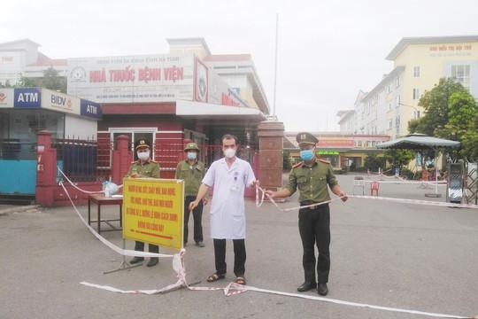 F1 âm tính, Bệnh viện đa khoa Hà Tĩnh hoạt động trở lại