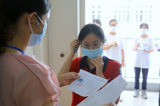 Hà Nội có 35 thí sinh bị ảnh hưởng bởi dịch COVID-19 trong kỳ thi vào lớp 10